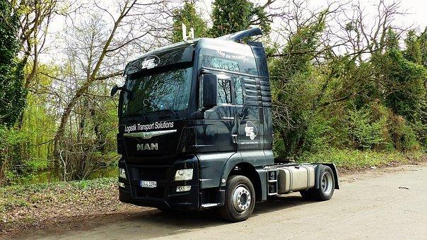 Zarządzanie flotą samochodów ciężarowych